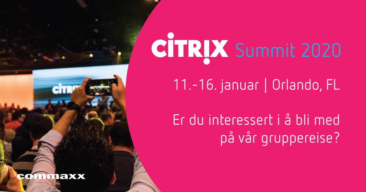 Citrix Summit 2020
